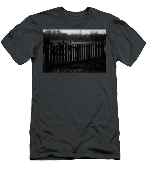 Men's T-Shirt (Slim Fit) featuring the photograph The Gardengate by Mimulux patricia no No