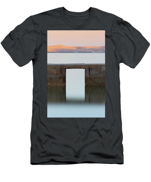 Men's T-Shirt (Athletic Fit) featuring the photograph The Gate Of Freedom by Davor Zerjav
