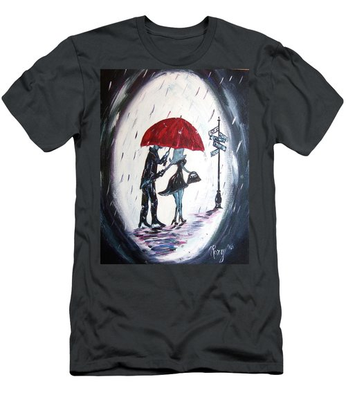 The Gentleman Men's T-Shirt (Slim Fit) by Roxy Rich