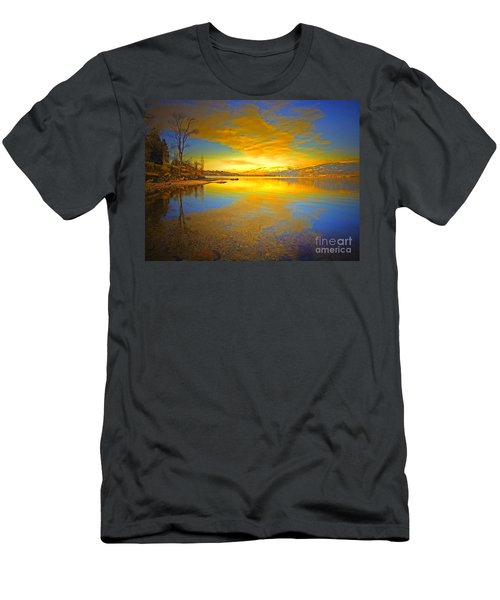 The Golden Clouds Of Winter Men's T-Shirt (Athletic Fit)