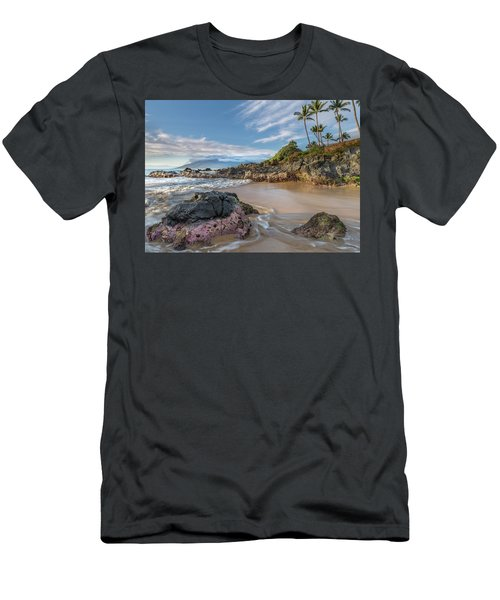 The Golden Hour In Paradise Men's T-Shirt (Athletic Fit)