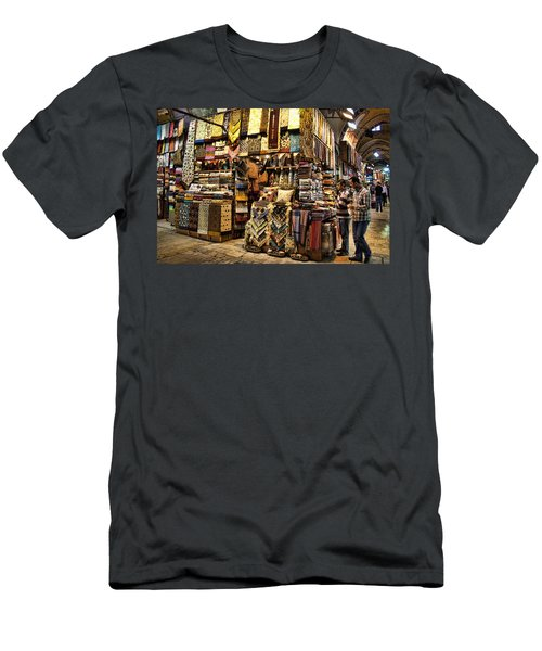 The Grand Bazaar In Istanbul Turkey Men's T-Shirt (Athletic Fit)