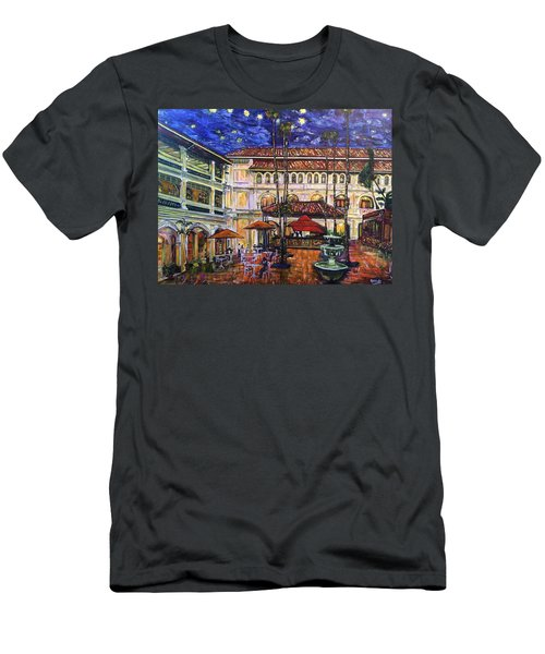 The Grand Dame's Courtyard Cafe  Men's T-Shirt (Athletic Fit)
