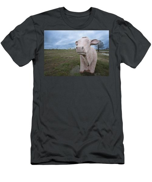 The Granite Cow Men's T-Shirt (Athletic Fit)