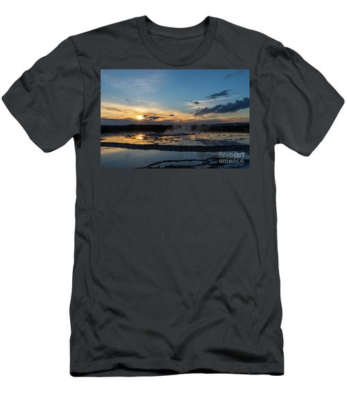 The Great Fountain Geyser Men's T-Shirt (Athletic Fit)