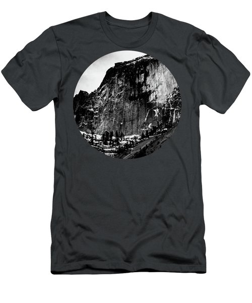The Great Wall, Black And White Men's T-Shirt (Slim Fit) by Adam Morsa