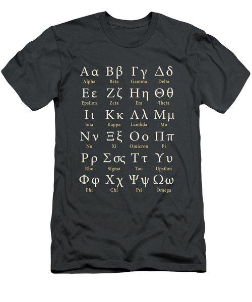 The Greek Alphabet Men's T-Shirt (Athletic Fit)