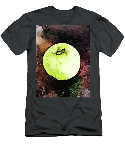 The Green Apple In The Bright Light Men's T-Shirt (Athletic Fit)