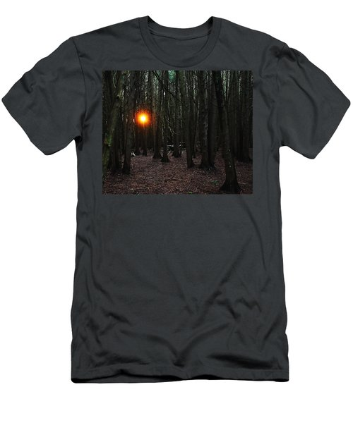 Men's T-Shirt (Slim Fit) featuring the photograph The Guiding Light by Debbie Oppermann