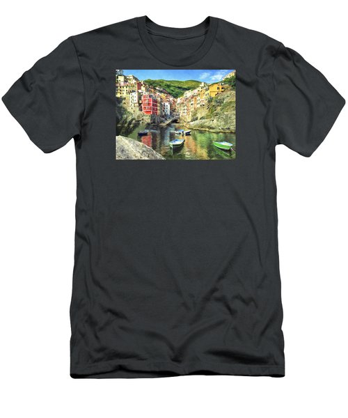 The Harbor At Rio Maggiore Men's T-Shirt (Athletic Fit)
