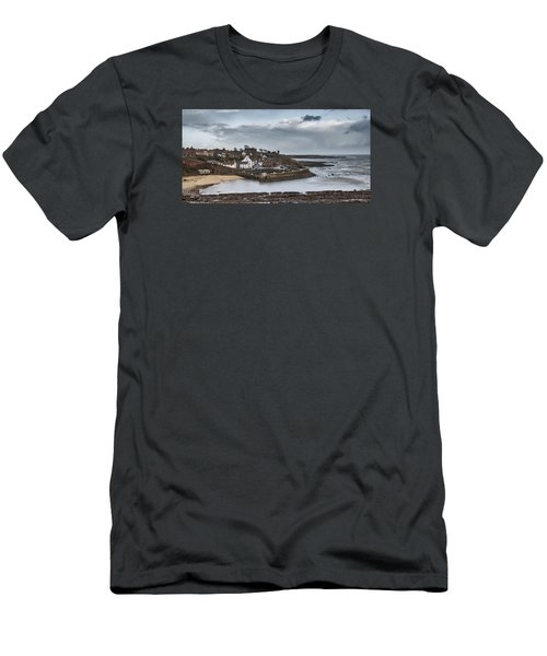 The Harbour Of Crail Men's T-Shirt (Slim Fit) by Jeremy Lavender Photography