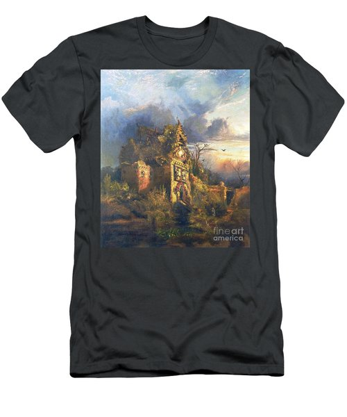 The Haunted House Men's T-Shirt (Athletic Fit)
