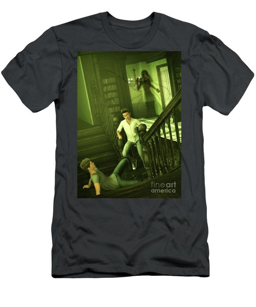 The Haunted Manor Men's T-Shirt (Athletic Fit)