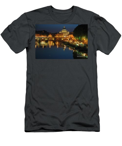 Men's T-Shirt (Athletic Fit) featuring the photograph Eternal Sound Of Rome by Silva Wischeropp