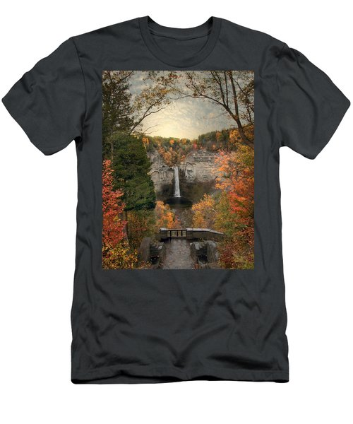 The Heart Of Taughannock Men's T-Shirt (Athletic Fit)