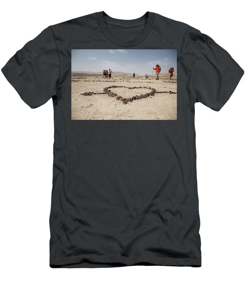 The Heart Of The Desert Men's T-Shirt (Athletic Fit)