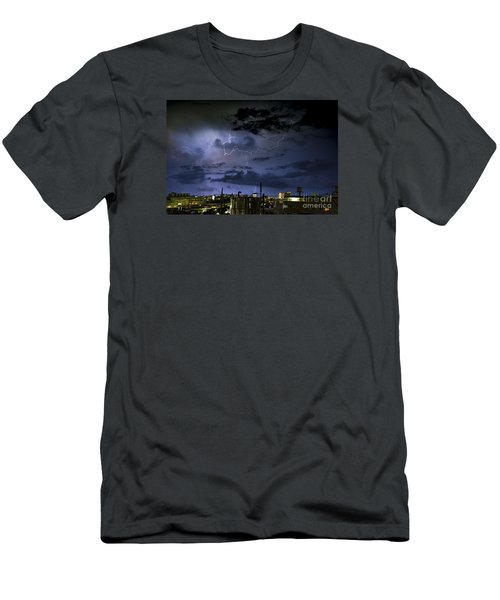 The Heavens Attack Men's T-Shirt (Athletic Fit)