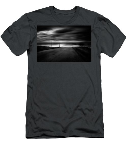 Men's T-Shirt (Slim Fit) featuring the photograph The Highway by Dan Jurak