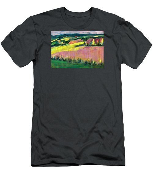 The Hills Are Alive Men's T-Shirt (Slim Fit) by Betty Pieper