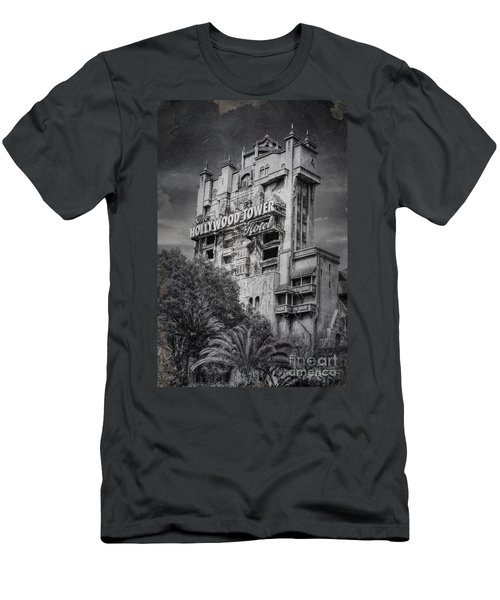 The Hollywood Tower Men's T-Shirt (Athletic Fit)
