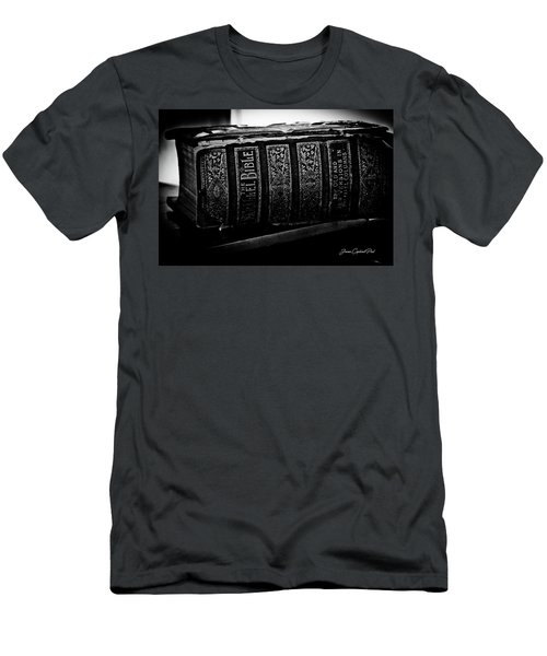 The Holy Bible Men's T-Shirt (Slim Fit) by Joann Copeland-Paul