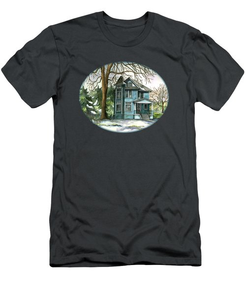 The House Under The Big Tree Men's T-Shirt (Athletic Fit)