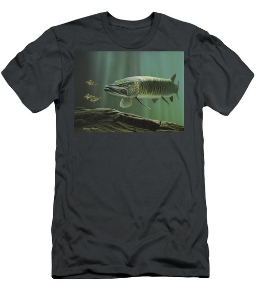 The Hunter - Musky Men's T-Shirt (Athletic Fit)