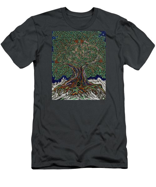 The Hunter's Lair Men's T-Shirt (Slim Fit) by FT McKinstry