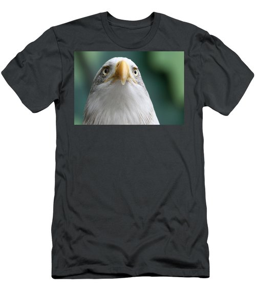 Men's T-Shirt (Slim Fit) featuring the photograph The Hunters Stare by Laddie Halupa