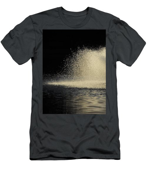 The Illusion Of Dark And Light With Water Men's T-Shirt (Athletic Fit)