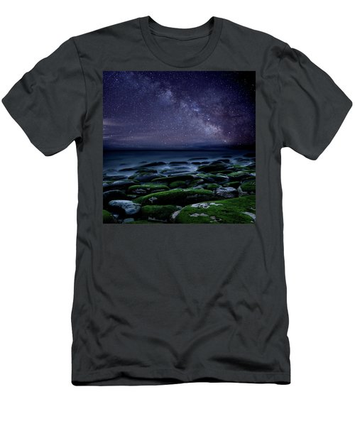 The Immensity Of Time Men's T-Shirt (Slim Fit) by Jorge Maia