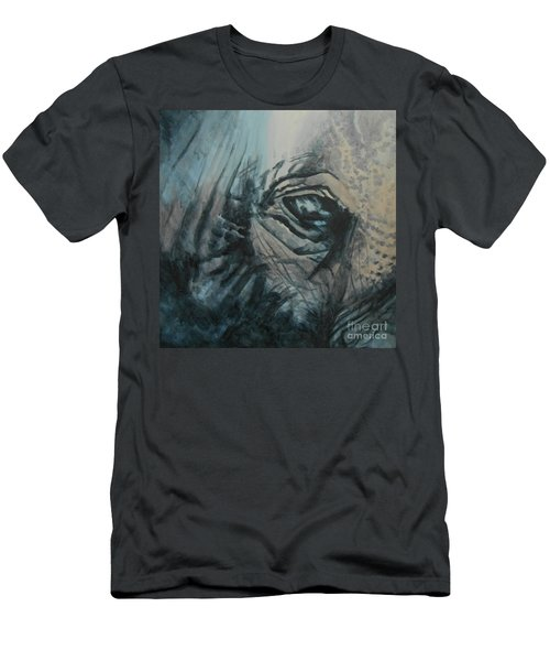 The Incredible - Elephant Men's T-Shirt (Athletic Fit)