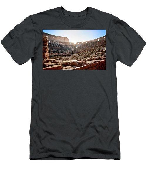 The Interior Of The Roman Coliseum Men's T-Shirt (Athletic Fit)