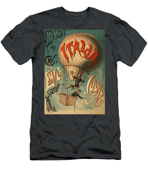 The Italia Ascensione Men's T-Shirt (Athletic Fit)