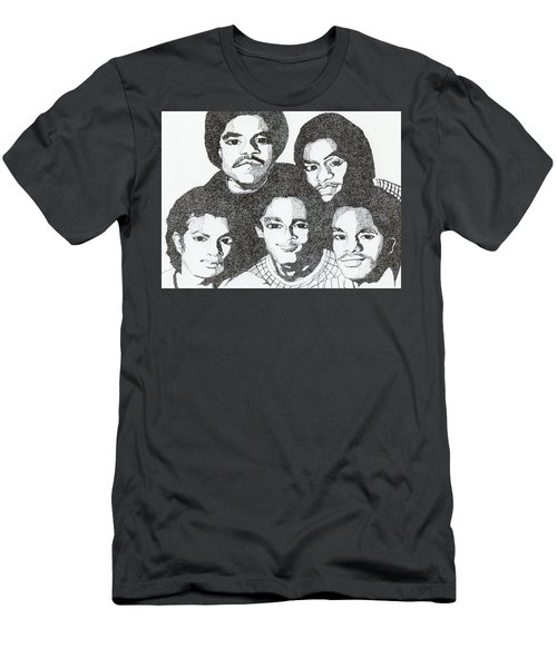 The Jacksons Tribute Men's T-Shirt (Athletic Fit)