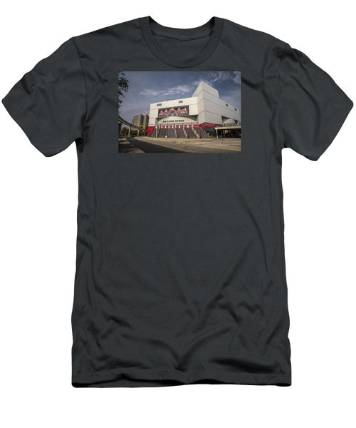 The Joe Wide Shot  Men's T-Shirt (Slim Fit) by John McGraw