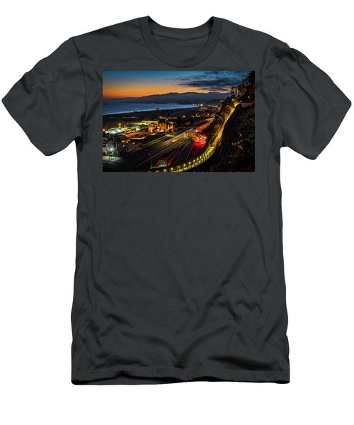 The Jonathan Beach Club - Night  Men's T-Shirt (Athletic Fit)