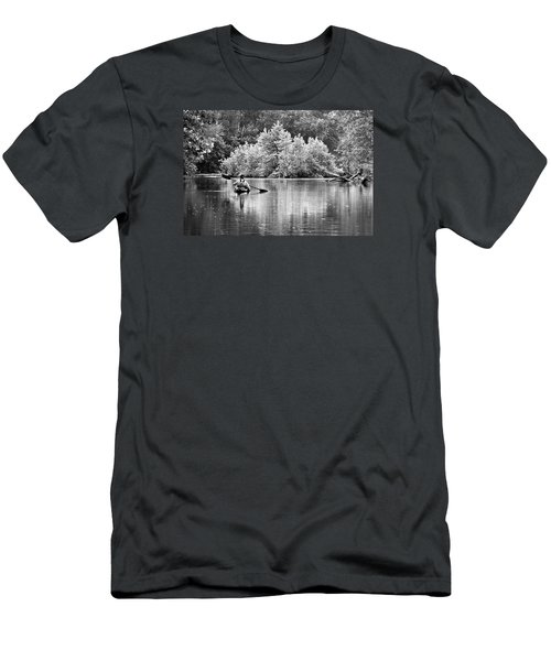 The Kayaker Men's T-Shirt (Slim Fit) by Robert Charity