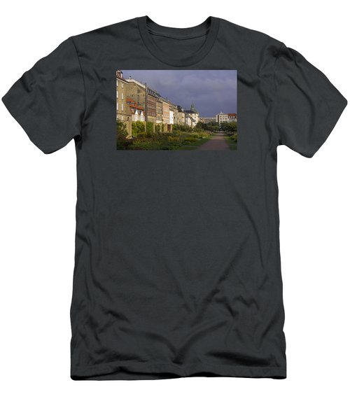 Men's T-Shirt (Slim Fit) featuring the photograph The Kings Garden by Inge Riis McDonald
