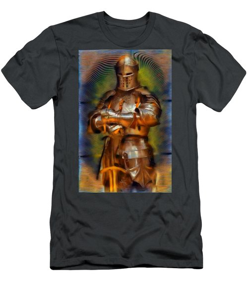 The Knight In Shining Armor Men's T-Shirt (Athletic Fit)