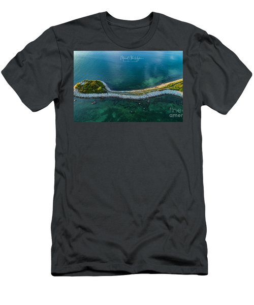 Men's T-Shirt (Athletic Fit) featuring the photograph The Knob by Michael Hughes