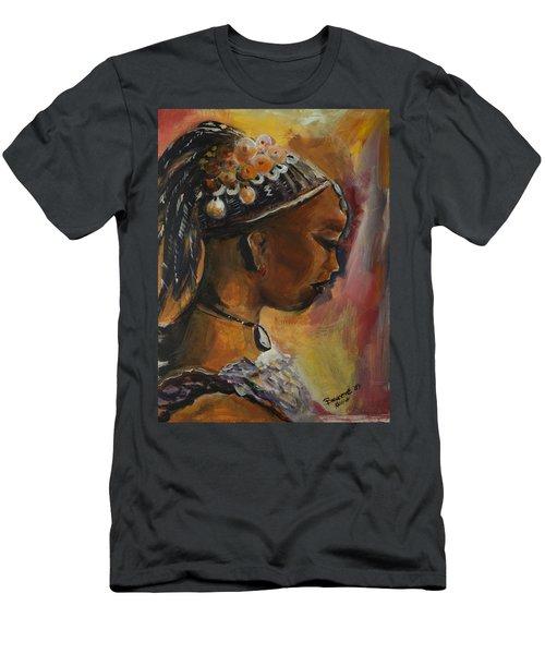 The Lady Men's T-Shirt (Slim Fit) by Bernadette Krupa