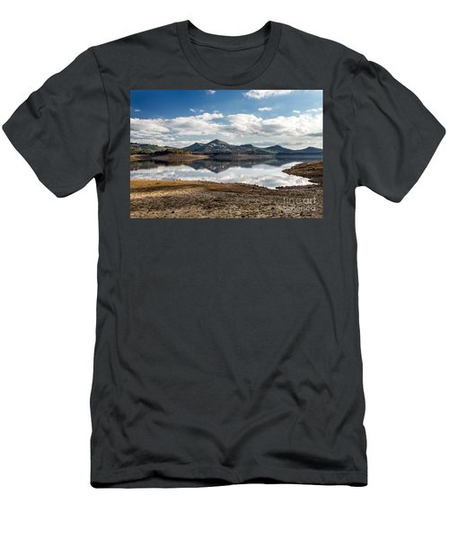 The Lake Men's T-Shirt (Slim Fit) by Giuseppe Torre