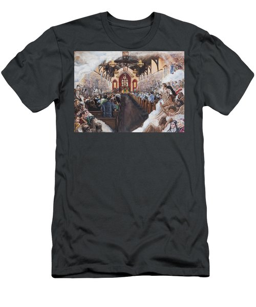 The Lamb's Supper Men's T-Shirt (Athletic Fit)