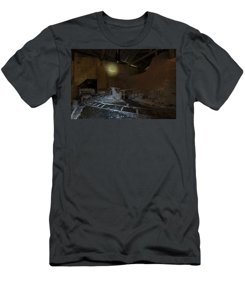 The Lamp Of The Abandoned Furnace Quarry  Men's T-Shirt (Athletic Fit)