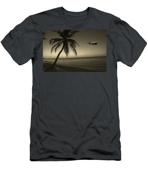 The Last Flight Out Men's T-Shirt (Athletic Fit)