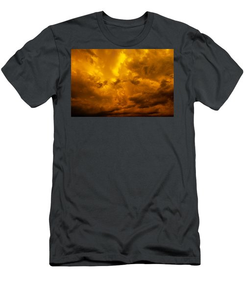 The Last Glow Of The Day 008 Men's T-Shirt (Athletic Fit)