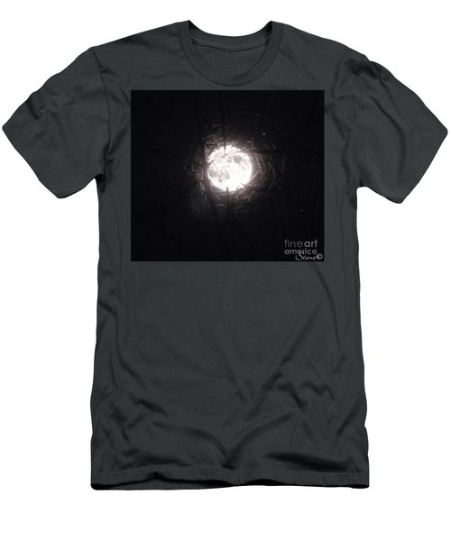 The Last Nights Moon Men's T-Shirt (Athletic Fit)