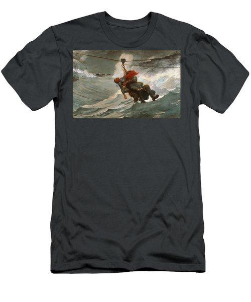 The Life Line Men's T-Shirt (Athletic Fit)