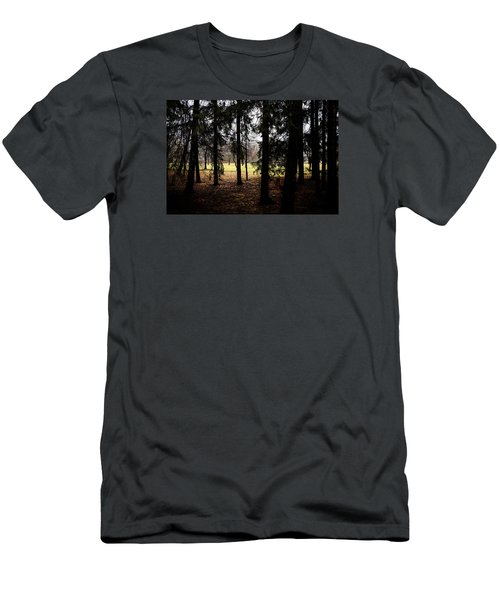 The Light After The Woods Men's T-Shirt (Slim Fit) by Celso Bressan